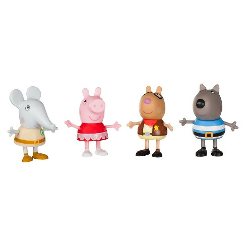 Peppa Pig - Fancy Dress Party 4-Pack of Figures - image 1 of 2