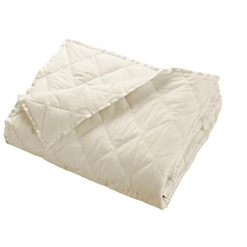 DOWNLITE Lightweight 230 TC Luxury Satin Trim Down Blanket - image 1 of 2