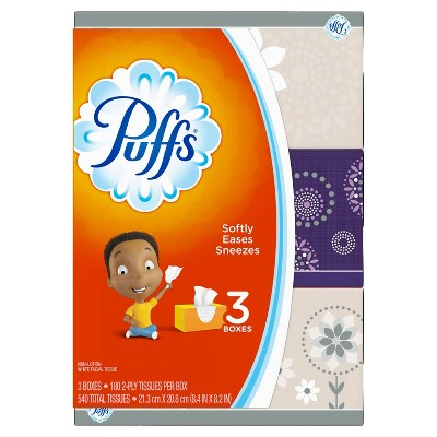 Tissues: Puffs