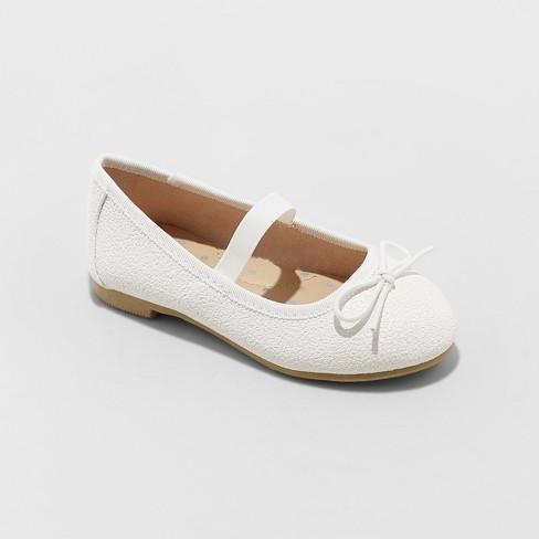 91ff90200 Toddler Girls  American Girl Becca Ballet Flats - Cat   Jack™ White ...