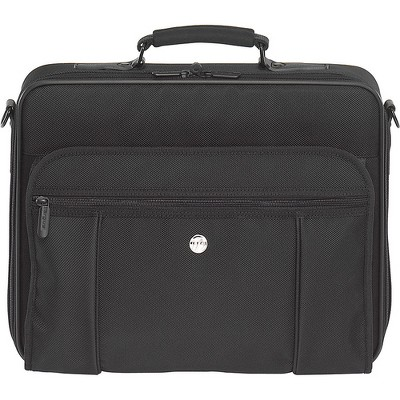 Targus Mobile Essentials Travel Case - Clamshell - Detachable Shoulder Strap - 3 Pocket - PVC - Black