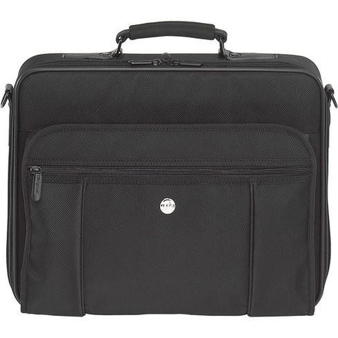 Targus Mobile Essentials Travel Case - Clamshell - Detachable Shoulder Strap - 3 Pocket - PVC - Black - image 1 of 1