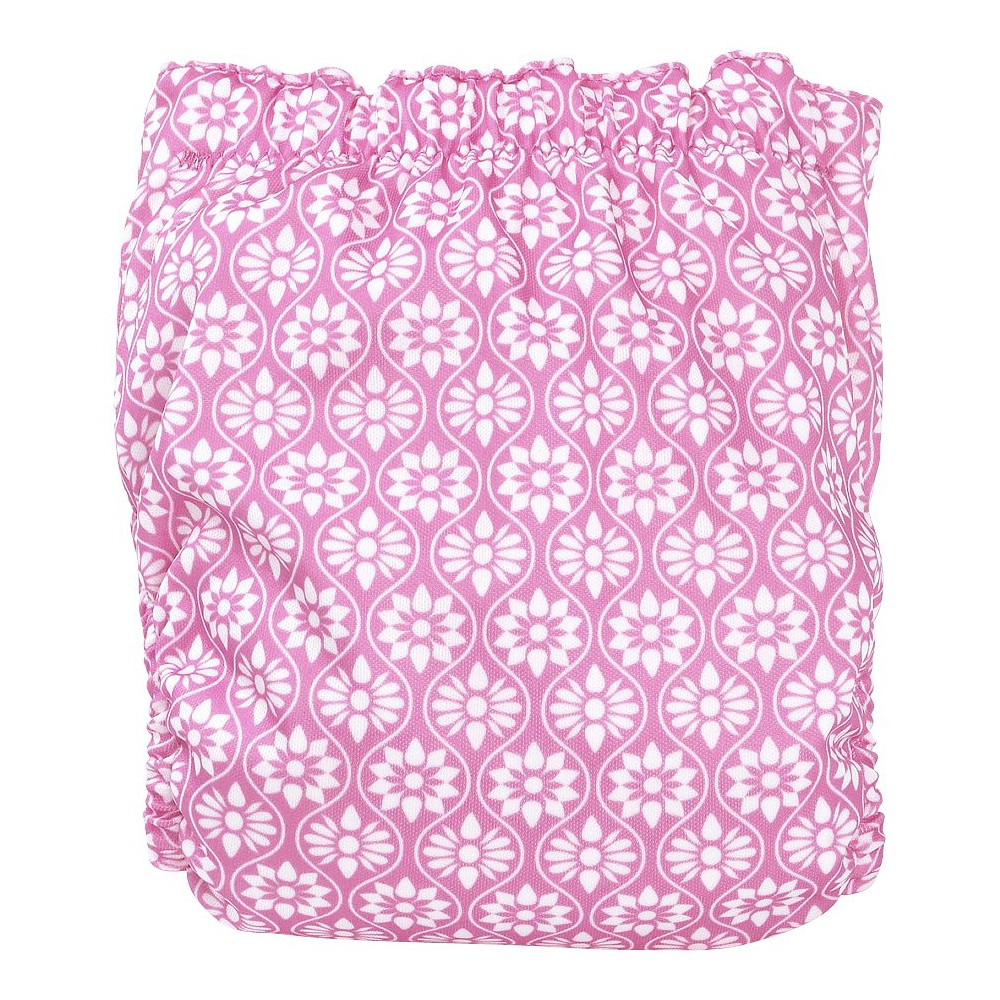 Perfect Bum Basic - Floral Tile (Small), Purple