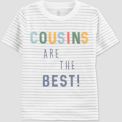 Toddler Girls' 'Cousin' T-Shirt - Just One You® made by carter's Gray