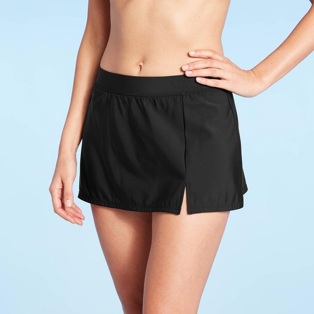 Women S Swim Skirt Aqua Green 174 Black Xl