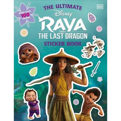 Disney Raya and the Last Dragon Ultimate Sticker Book (Paperback)