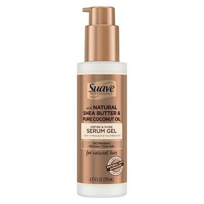 Suave Professionals for Natural Hair Define & Shine Gel Serum - 4.75 fl oz