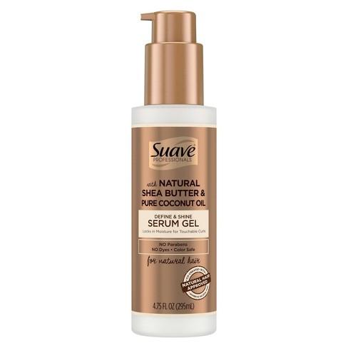 Suave Professionals for Natural Hair Define & Shine Gel Serum - 4.75 fl oz - image 1 of 3