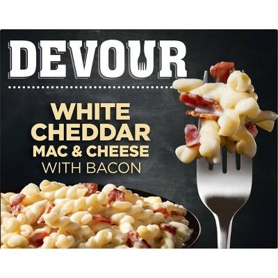 Devour Frozen White Cheddar Mac & Cheese with Bacon - 12oz