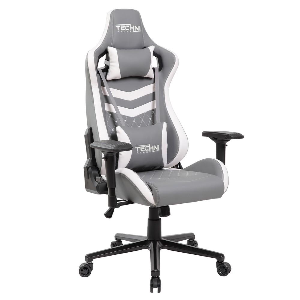 Ergonomic Executive Gaming Chair Gray -Techni Sport
