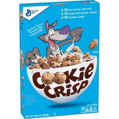 Cookie Crisp Breakfast Cereal - 10.6oz