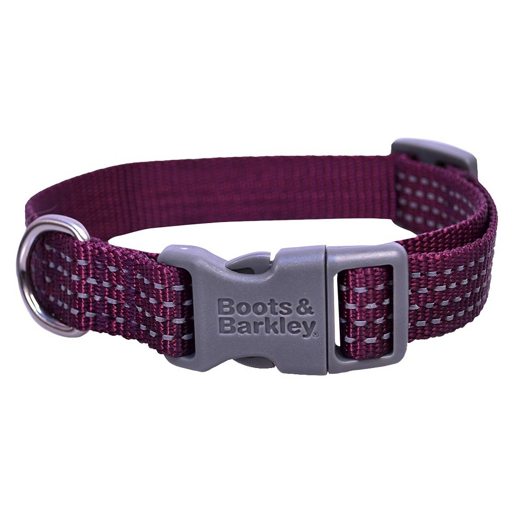 Reflective Core Dog Collar - S - Purple - Boots & Barkley, Embassy Purple
