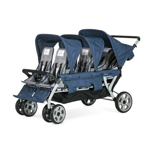 Foundations Gaggle Jamboree 6-Seat Stroller - Navy/Gray - image 1 of 4