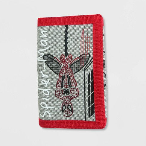 Boys' Spider-Man Trifold Wallet - Gray - image 1 of 3