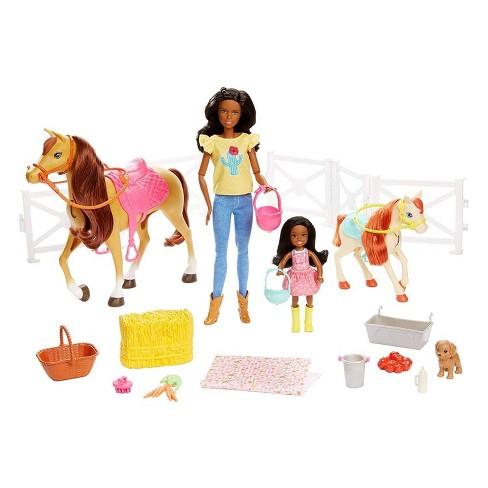 Barbie Hugs 'N' Horses Playset - image 1 of 4