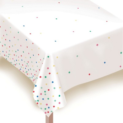 "54""x84"" Dotted Everyday Tablecover - Spritz™"