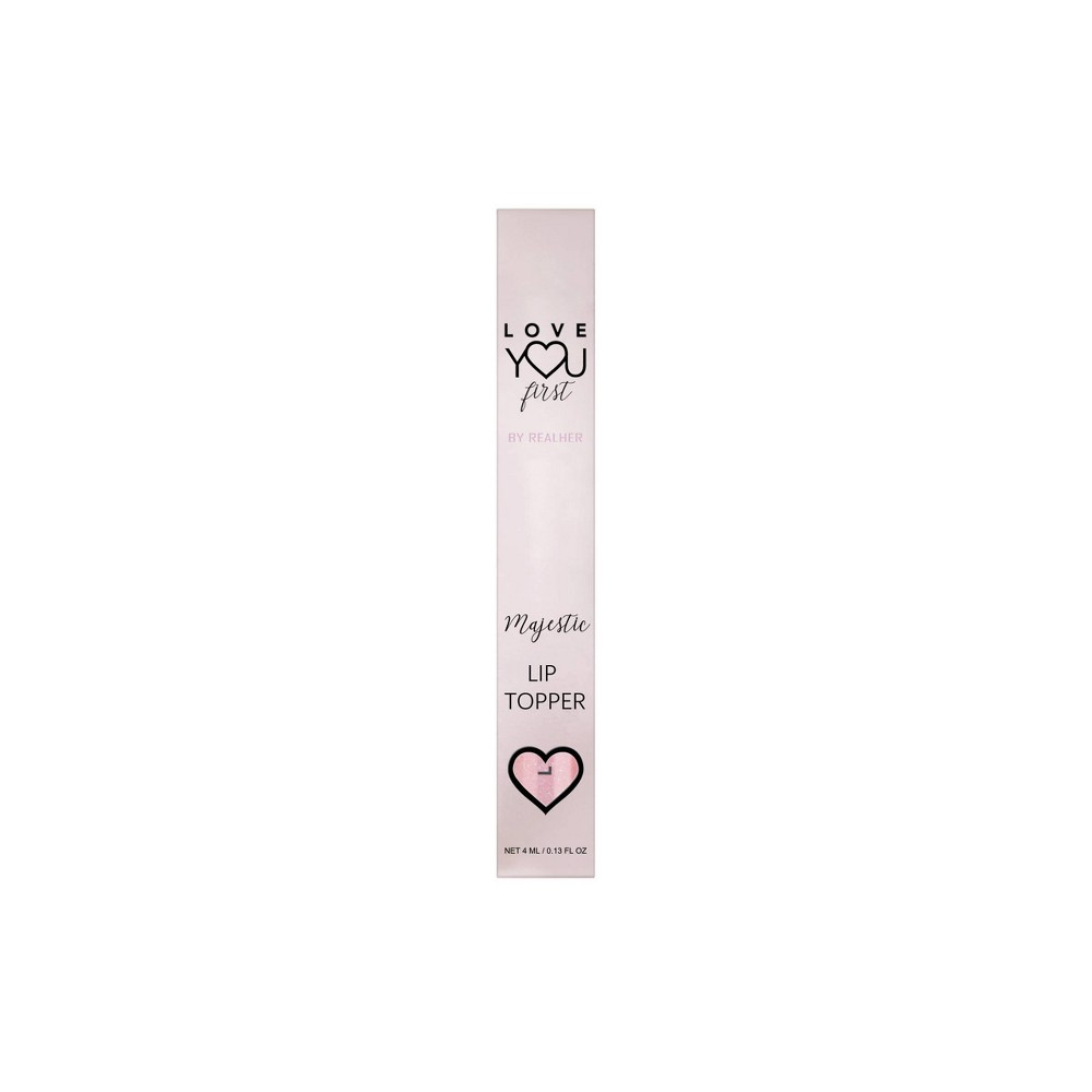 Image of Love YOU First By REALHER Majestic Opalescent Pink Gloss Topper - 0.13 fl oz