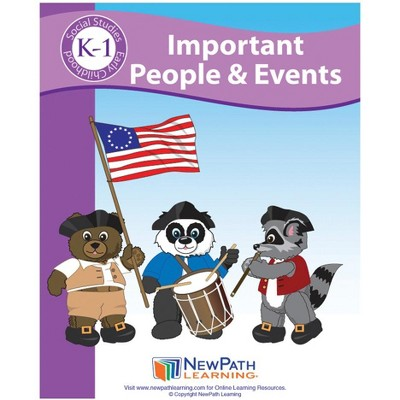 NewPath Learning Important People Student Activity Guide, Grade K to 1