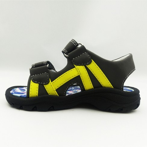 49104addcfb Toddler Boys  Brooks Footbed Sandals - Cat   Jack™ Grey   Target