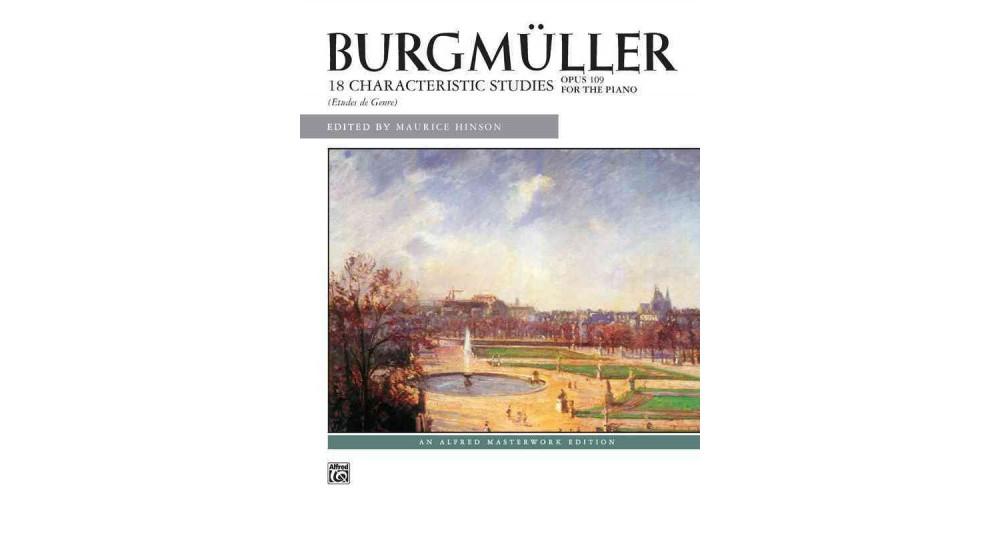 Alfred Publishing Burgmuller (Paperback), Books