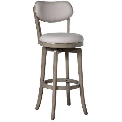Sloan Swivel Counter Height Barstool Gray - Hillsdale Furniture