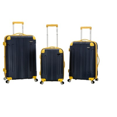 Rockland Sonic 3pc ABS Upright Set - Navy