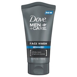 Dove Men+Care Hydrate + Facial Cleanser Moisturizing Face Wash - 5oz