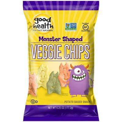 Good Health Monster Shaped Veggie Chips - 6.25oz
