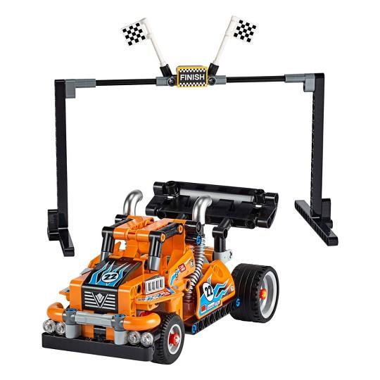 LEGO Technic Race Truck 42104 Pull-Back Model Building Kit image number null