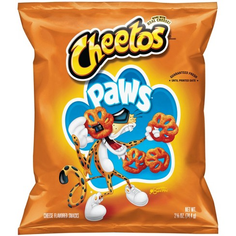 Cheetos Paws Cheese Flavored Snacks - 2.625oz - image 1 of 2