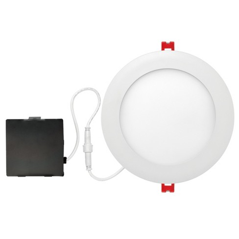 """Globe Electric 90933 Slimline 6"""" LED Open Recessed Trim and Remodel Housing - Insulated Ceiling Rated - image 1 of 1"""