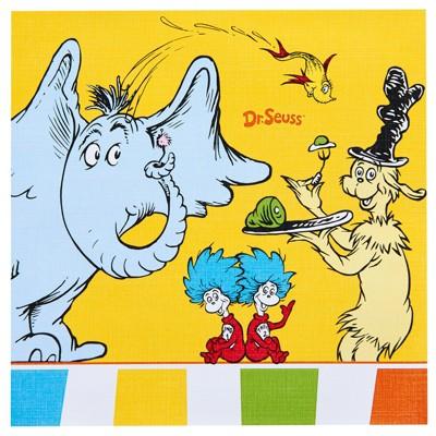 Dr. Seuss 20ct Favorites Lunch Napkin