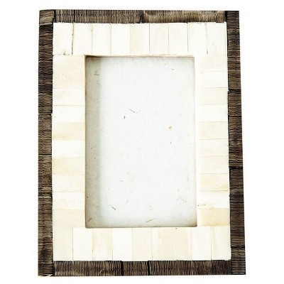 Horn & Bone Photo Frame (4 x6 )- 3R Studios