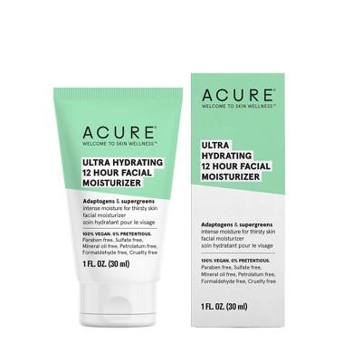 Acure Ultra Hydrating 12 Hour Moisturizer - 1 fl oz