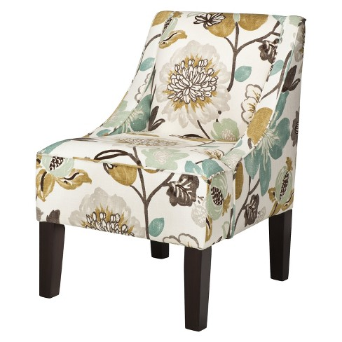 Hudson Swoop Arm Chair - Pearl - image 1 of 2