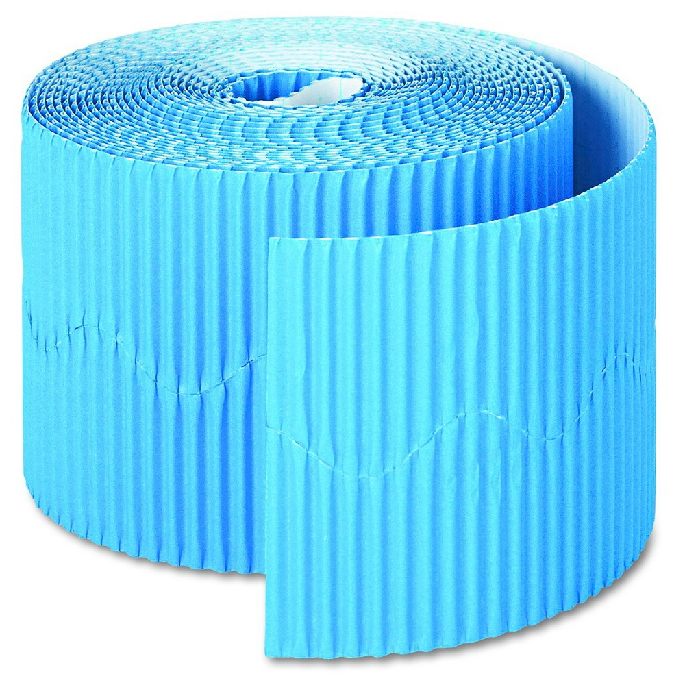 "Image of ""Pacon Bordette Decorative Border, 2 1/4"""" x 50' Roll, Brite Blue"""