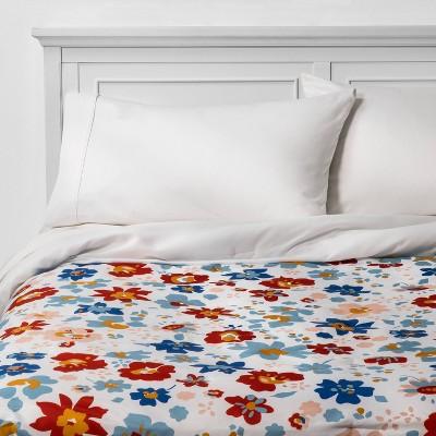 Floral Reversible Microfiber Comforter - Room Essentials™