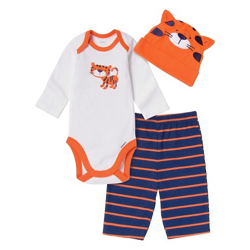 Gerber® Newborn Boys' Tiger 3 Piece Set - image 1 of 1