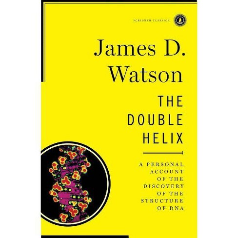 Double Helix - (Scribner Classics) by  James D Watson (Hardcover) - image 1 of 1