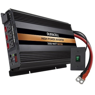 Duracell 3000W High Powered Inverter and Remote Switch