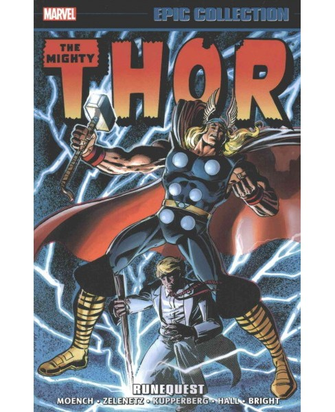 Epic Collection The Mighty Thor 12 : Runequest (Paperback) (Doug Moench) - image 1 of 1