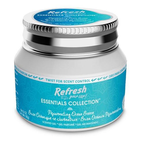 Refresh Your Car 5oz Gel Essentials Collection Rejuvenating Ocean Breeze - image 1 of 1