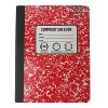 College Ruled Solid Composition Notebook (Colors May Vary) - Unison - image 3 of 4