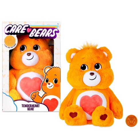 "Care Bears Basic Tenderheart Bear 14"" Medium Plush Stuffed Animal - image 1 of 4"