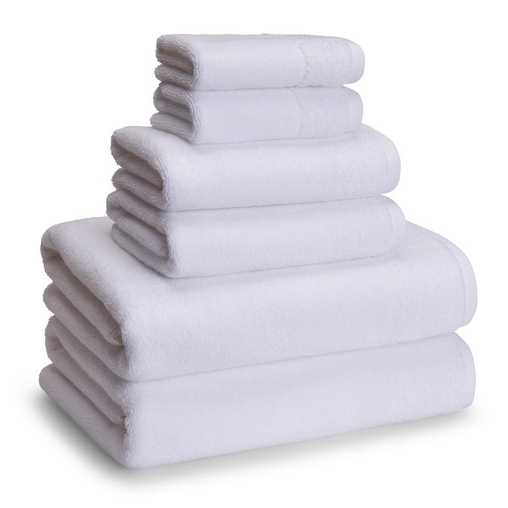Image of 6pc Osaka Towel Set White - Cassadecor