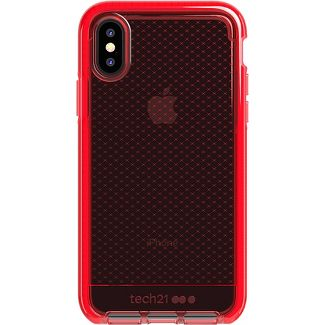 Tech21 Apple iPhone X/XS Evo Check Case - Rouge