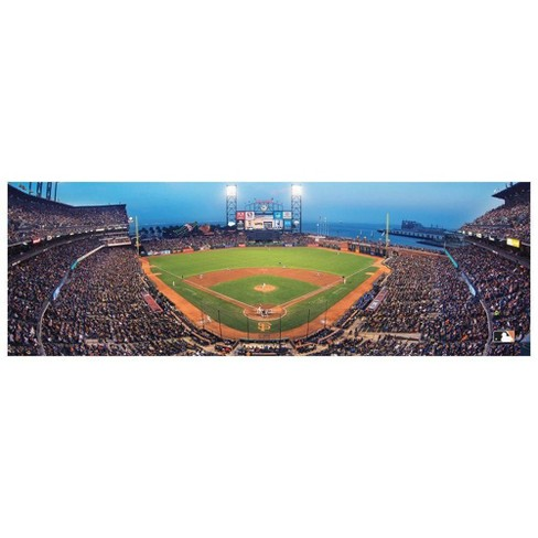 MLB San Francisco Giants Panoramic Puzzle 1000pc - image 1 of 2
