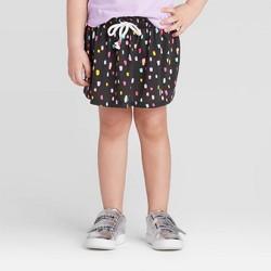 Toddler Girls' Polka Dot Skort - Cat & Jack™ Gray