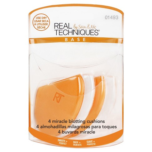 Real Techniques Miracle Blotting Cushions - 4pk - image 1 of 2