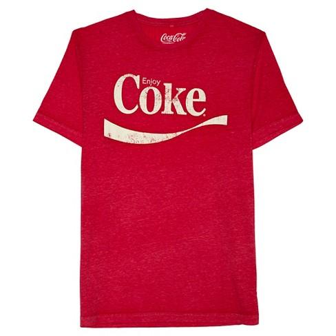 c3f487adfb6a Men's Coca-Cola® Coke Logo T-Shirt - Red : Target